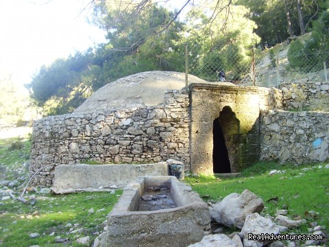 Old Cistern on the way to Babadag - Hiking in Kayakoy, Turkey: the Spirit of Lycia