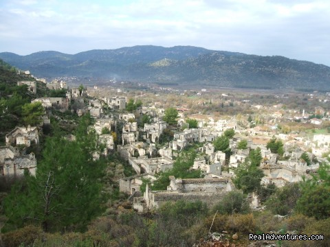 'Ghost Town', Kayakoy - Hiking in Kayakoy, Turkey: the Spirit of Lycia