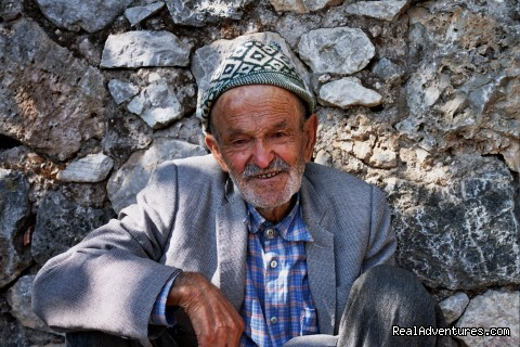 Old Man from Kayakoy - Hiking in Kayakoy, Turkey: the Spirit of Lycia