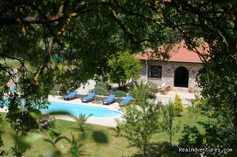 Your accomodation and pool (#23 of 24) - Hiking in Kayakoy, Turkey: the Spirit of Lycia