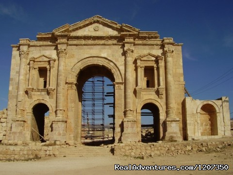 Jerash - Hire Car,Minivan And Driver 150JD per day