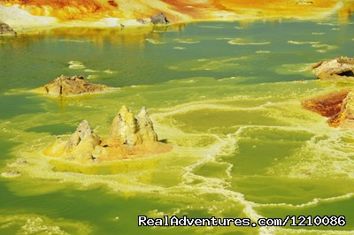 Ethiopia Adventures tour to Dallol and Ert-Ale: Dallol- the most colourful place of our universe