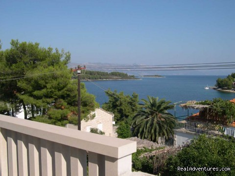 Captain's Villa Sokol- balcony view - Croatia-Tailor Made Holiday Packages