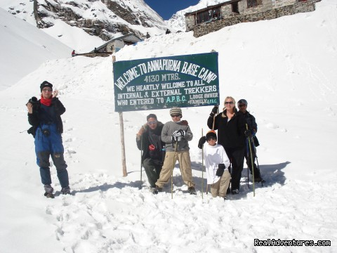 Annapurna Base Camp (Sanctuary) Trekking: