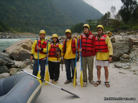 Trishuli River Rafting:
