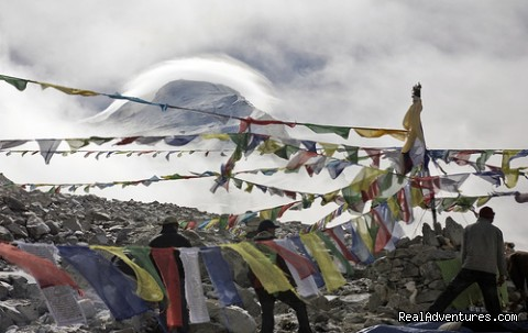 Image #1 of 1 - Cho Oyu Expedition from Tibet Side