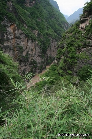 tiger leaping gorge - China Bike Tours, Tour de China