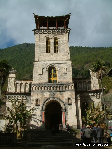 cizhong church - China Bike Tours, Tour de China