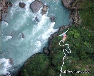 Image #1 of 1 - Bungy Jumping