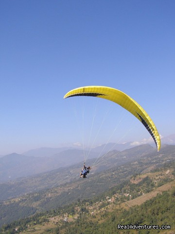 Image #1 of 1 - Nepal Paragliding