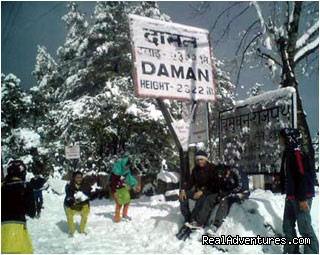 Daman Hiking: