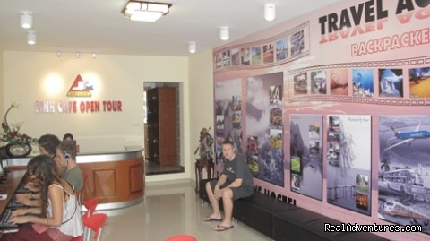 front view - Backpackers Travel Hostel-27 Bat Dan Street