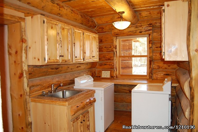 Laundry room - Lindig Lodge
