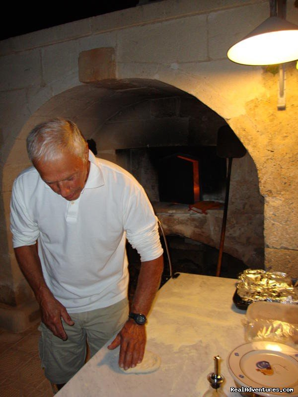 pizza making! | Image #15/20 | Romantic hideaway at Villa Magnolia Italy