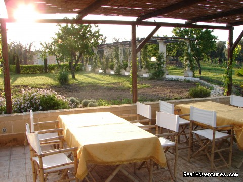 seating outside (#9 of 21) - Romantic hideaway at Villa Magnolia Italy