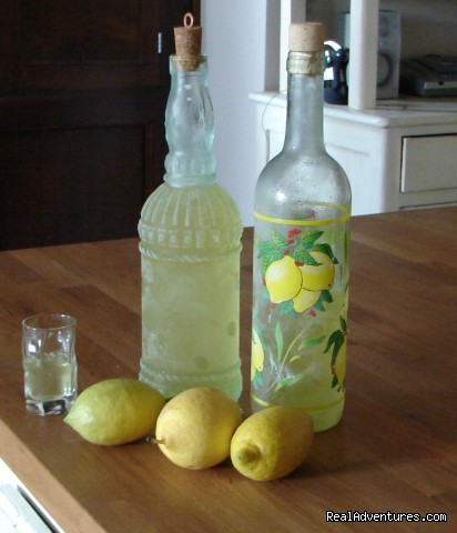 Homemade Limoncello - Romantic hideaway at Villa Magnolia Italy