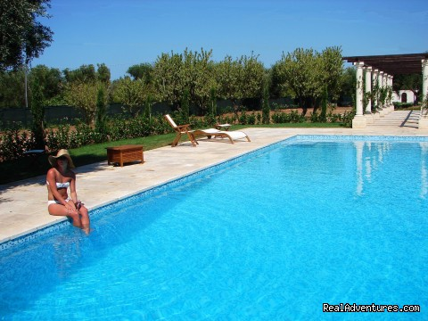 pool - Romantic hideaway at Villa Magnolia Italy