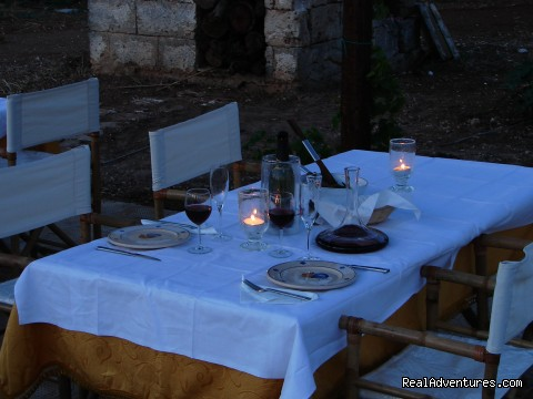 dining area (#18 of 21) - Romantic hideaway at Villa Magnolia Italy
