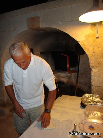 pizza making! - Romantic hideaway at Villa Magnolia Italy