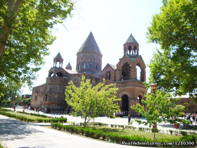 Echmiadzin Cathedral - Tours in Armenia