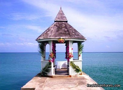 Beachfront Gazebo Pier  | Image #3/7 | Tropical Weddings Jamaica