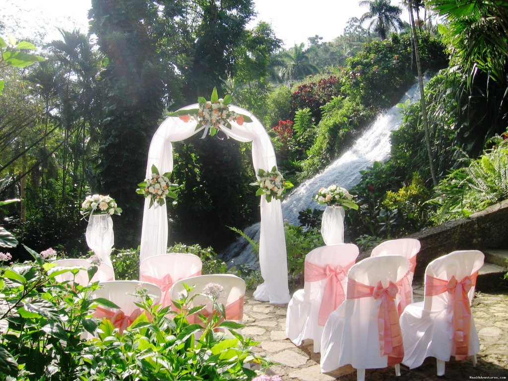 Botanical Waterfall Location | Image #5/7 | Tropical Weddings Jamaica
