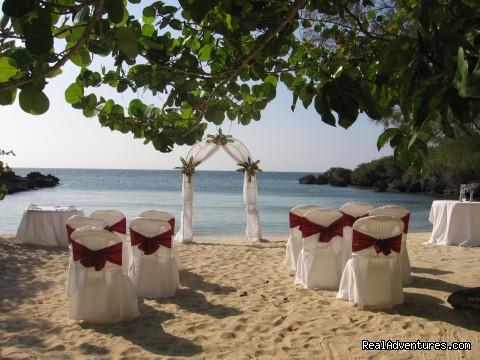 Tropical Weddings Jamaica Tropical Beach Location