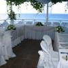 Beachfront Terrace Reception