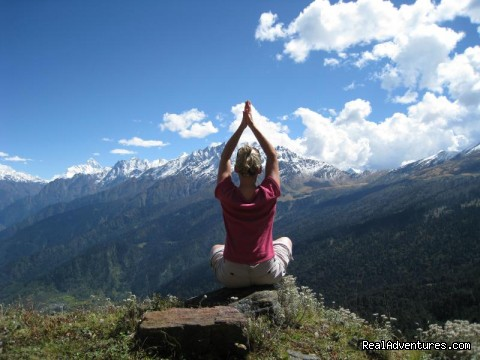 Yoga while Trekking in Indian Himalayas (#2 of 6) - Yoga Retreats in the Indian Himalayas