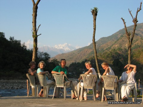 Relaxing time to enjoy the nature &  Mountain peaks - Yoga Retreats in the Indian Himalayas