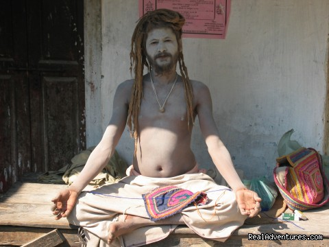 Meeting with holy sadhus & Yogis (#5 of 6) - Yoga Retreats in the Indian Himalayas