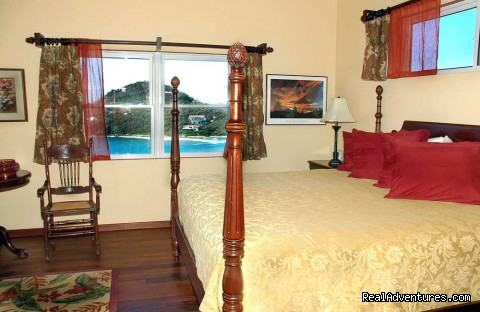Rams Head Bedroom (#10 of 21) - Gorgeous, Ultra-Private Oceanside Villa