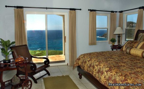 Plantation Room (#13 of 21) - Gorgeous, Ultra-Private Oceanside Villa