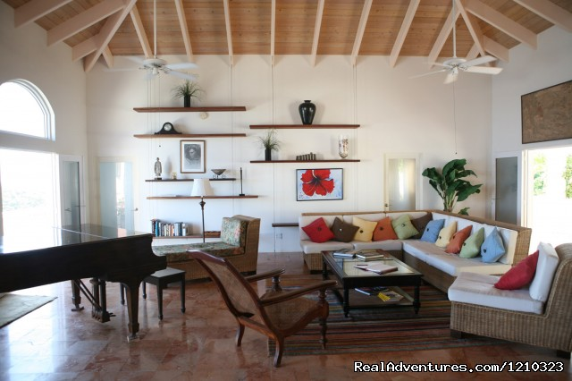 Great Room - Gorgeous, Ultra-Private Oceanside Villa