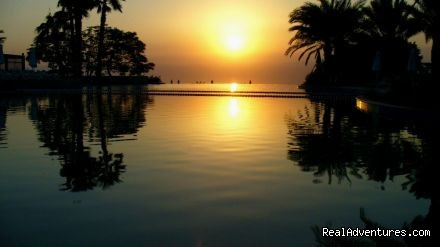 Dead sea Sun set - Welcome to visit the Heritage villages in jordan