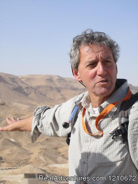 Zel Lederman Private Guide in Israel - ISRAEL FAMILY ADVENTURES Israel Travel Company