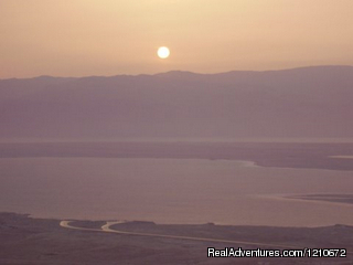 Masada at Sunrise - Dawn Tour of Dead Sea (#3 of 4) - ISRAEL FAMILY ADVENTURES Israel Travel Company