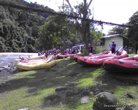 - Kiulu White Water Rafting (Grade I-II)