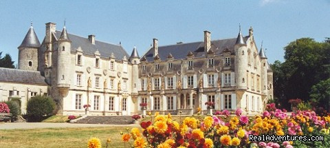 Chateau Terre Neuve in Fontenay le Comte - French Cycle Vacations at Les Croisettes, France