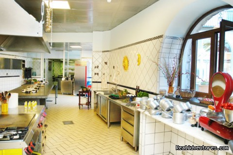 My beautiful kitchen - Cook in italy