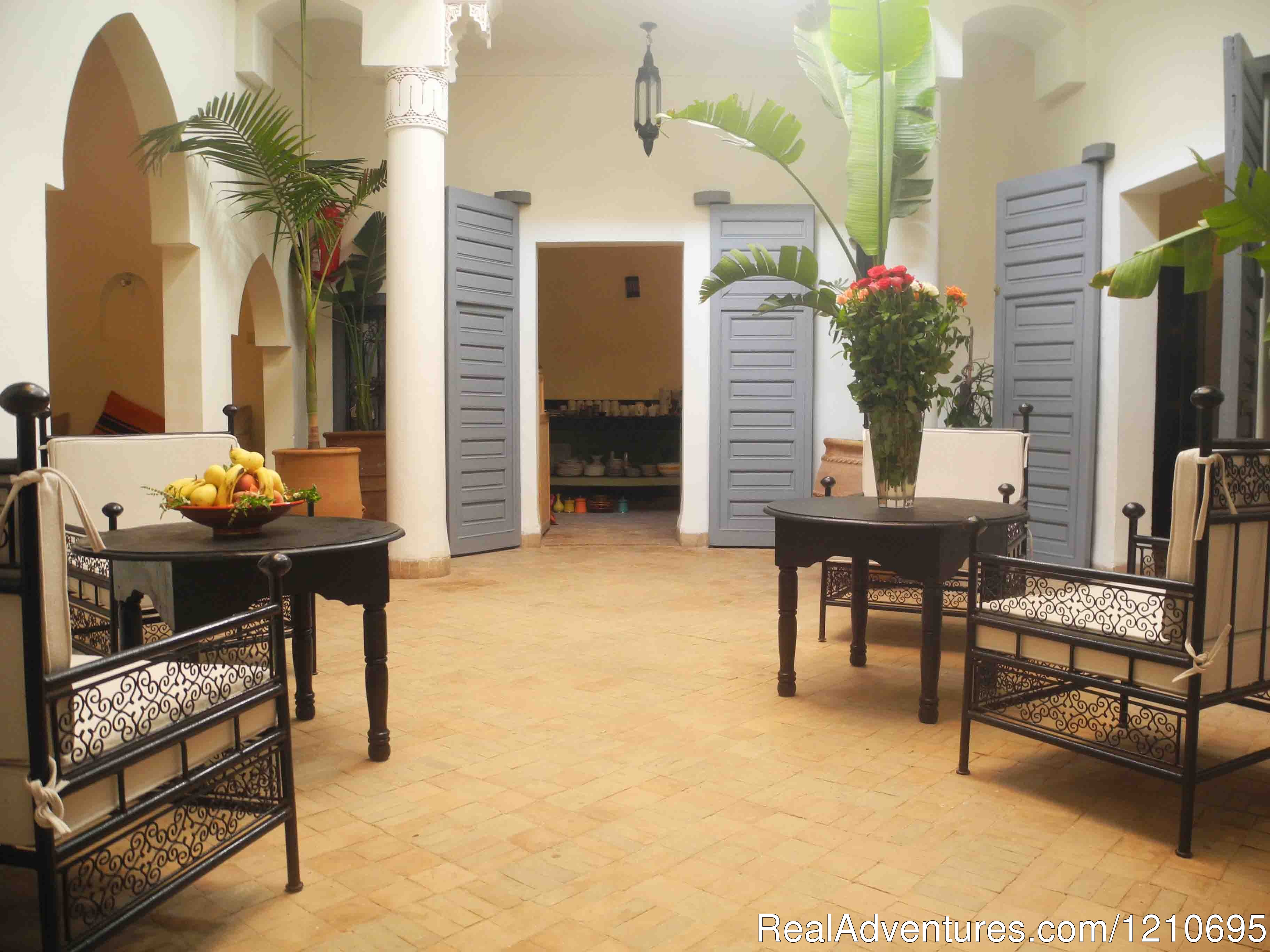 Riad Linda courtyard | Image #1/26 | Marrakech Medina, Morocco | Bed & Breakfasts | Riad Linda - great central location