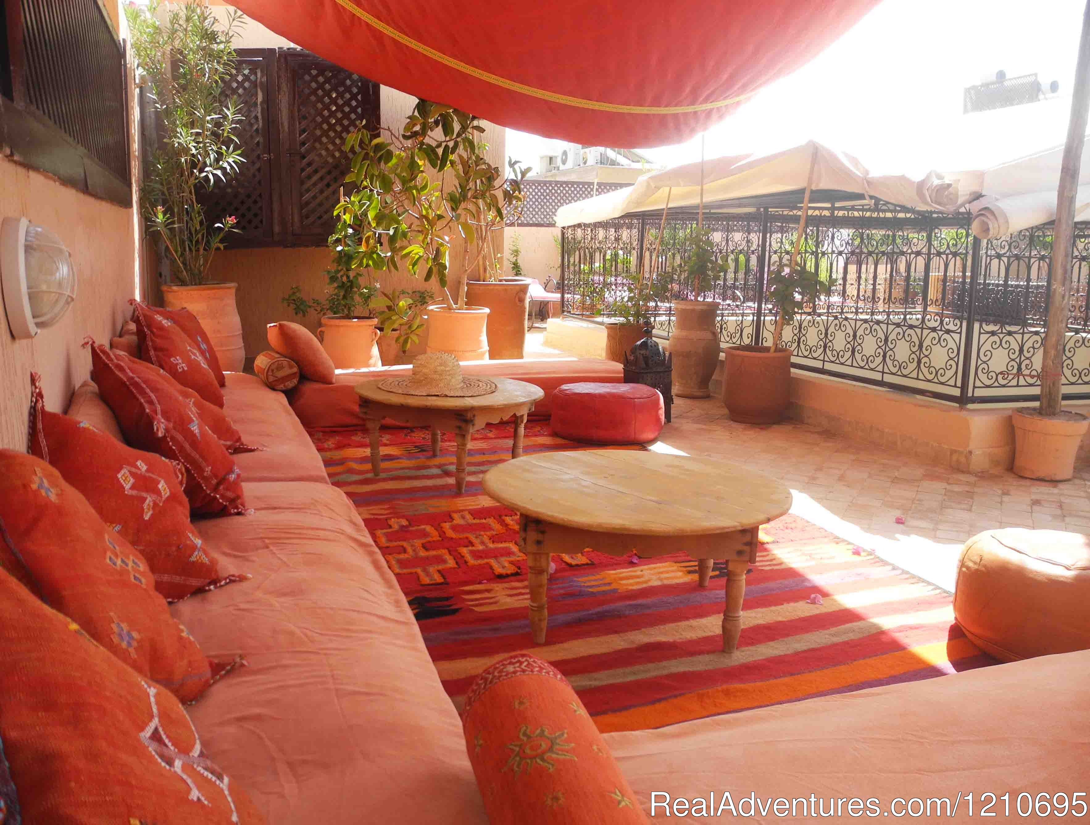 Roof Top Terrace. | Image #7/26 | Riad Linda - great central location