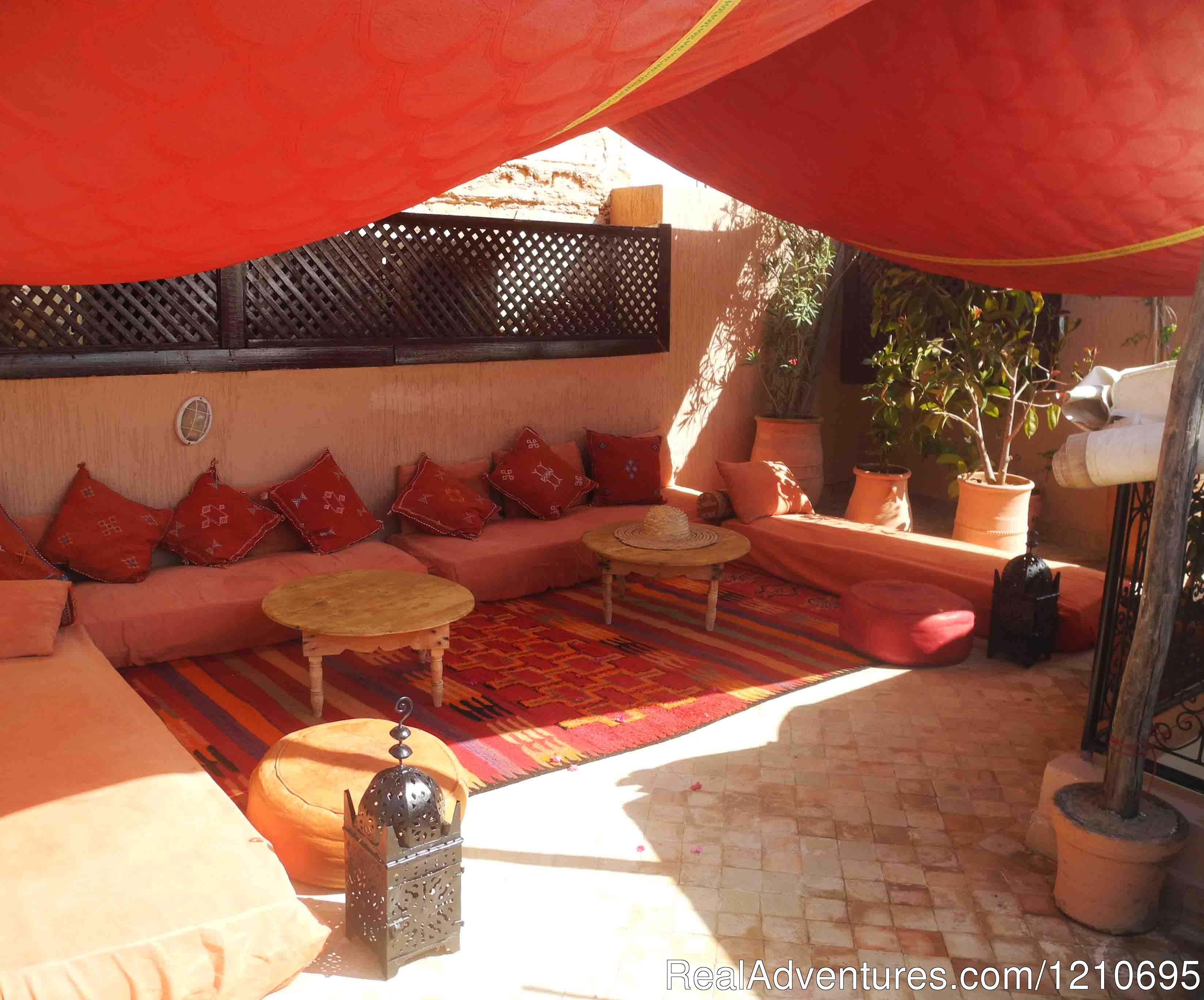 Our roof top terrace | Image #11/26 | Riad Linda - great central location