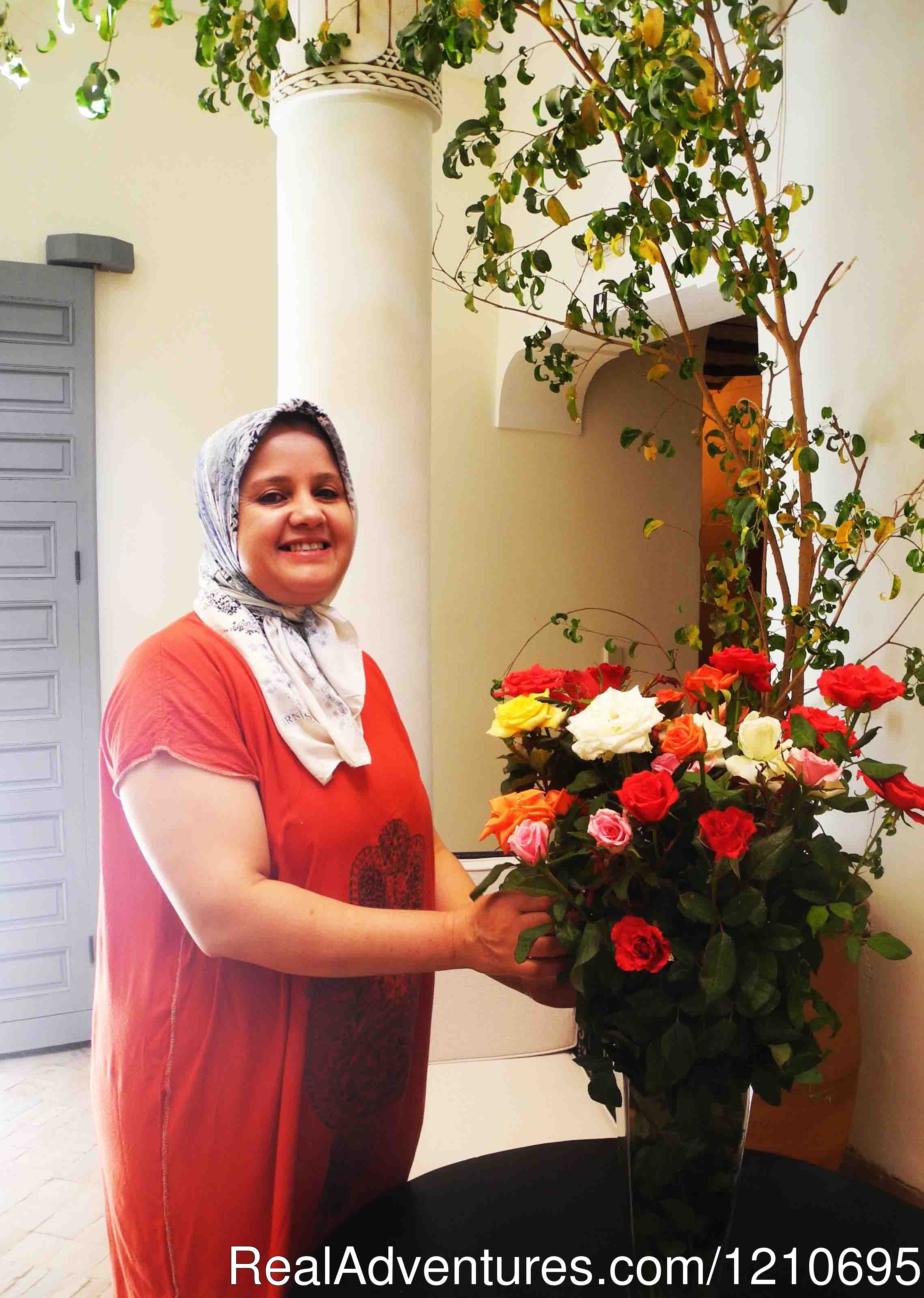 Fadila our housekeeper | Image #19/26 | Riad Linda - great central location