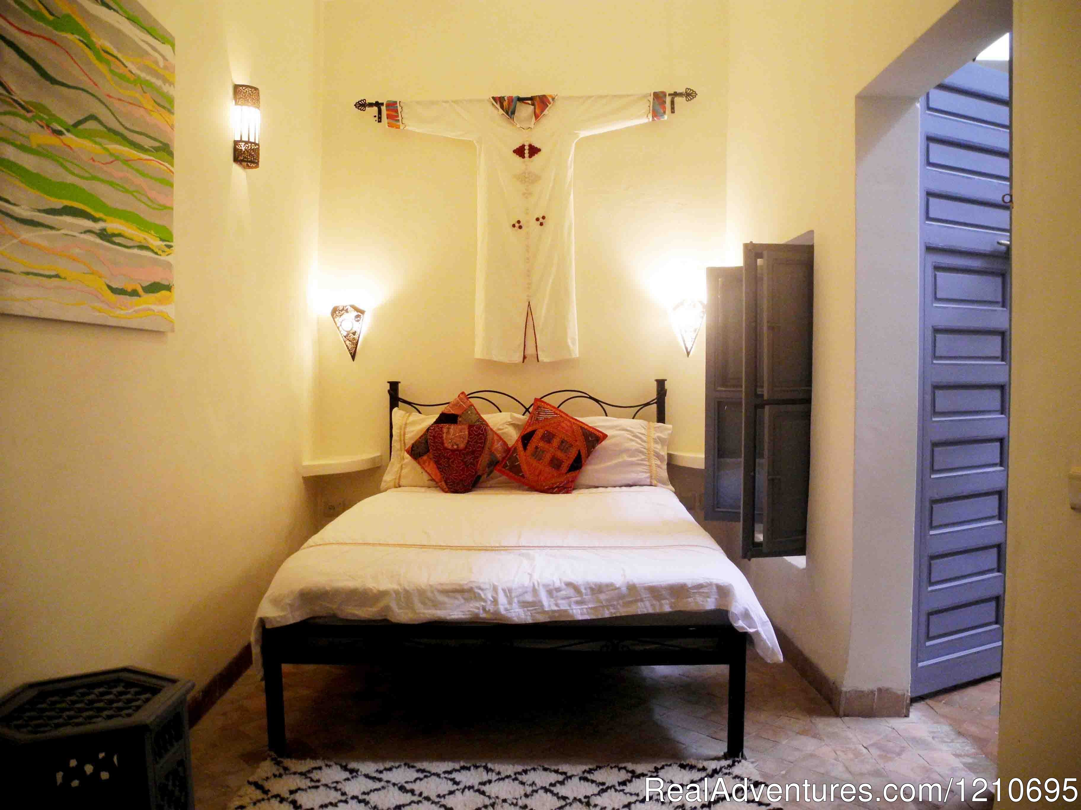 Jardin Double Room | Image #20/26 | Riad Linda - great central location