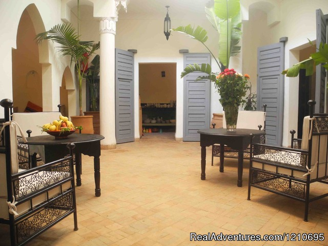 Riad Linda - great central location