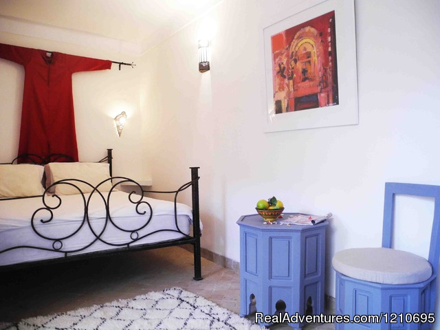 Atlas Double Room - Beautiful  Riad in Marrakech Medina