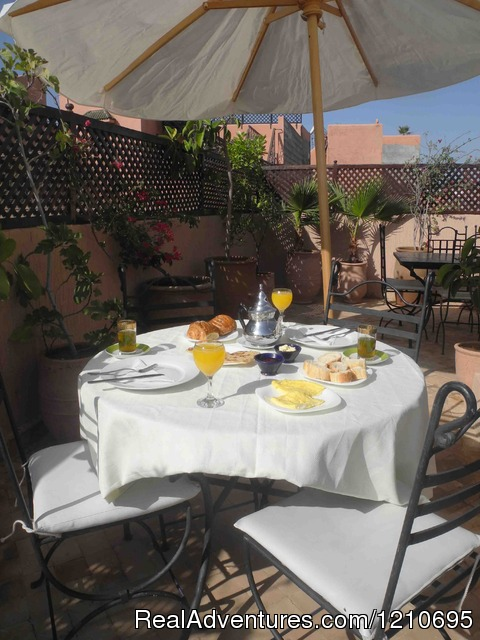 Roof Top Terrace - Beautiful  Riad in Marrakech Medina