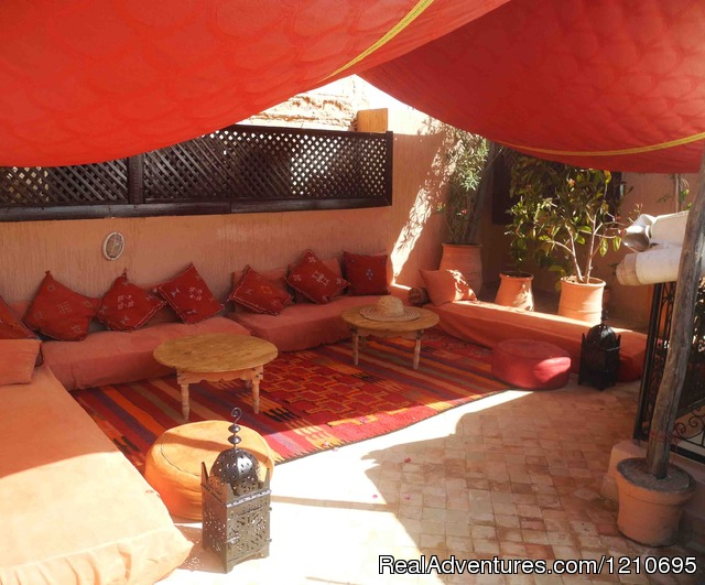 Our roof top terrace - Beautiful  Riad in Marrakech Medina