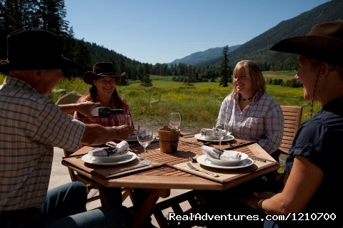 Al Fresco Dining (#14 of 21) - Guest / Dude Ranch in British Columbia, Canada